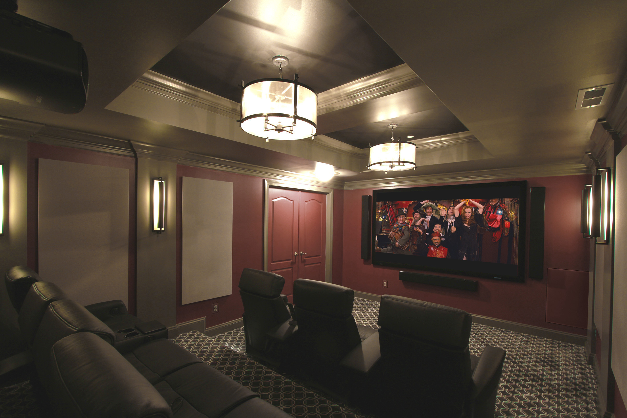 A Sophisticated Theater For A Savvy Couple Gramophone