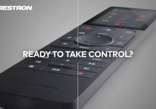 Crestron 310 Series handheld remote