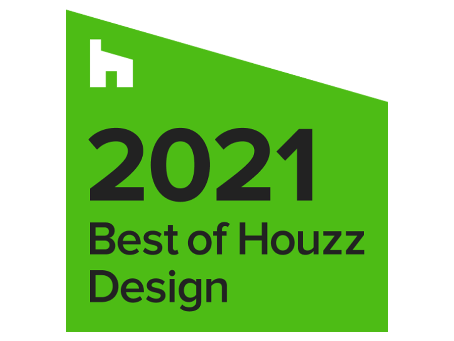2021 Houzz besy of design badge