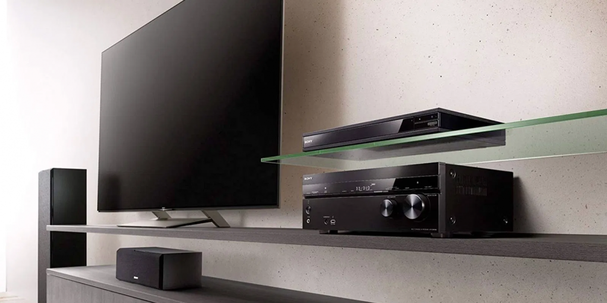 Sony receivers and dvd players at Gramophone
