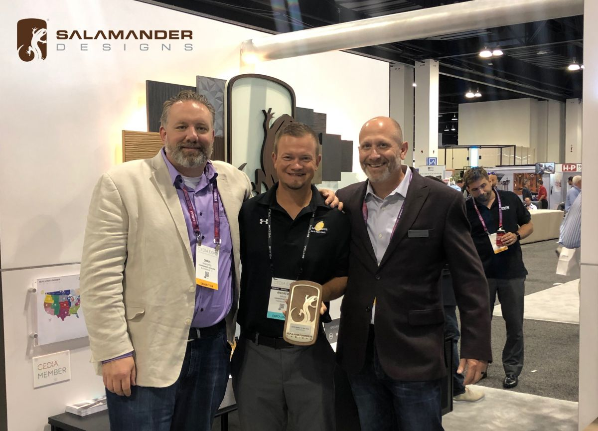 Salamander Designs Award