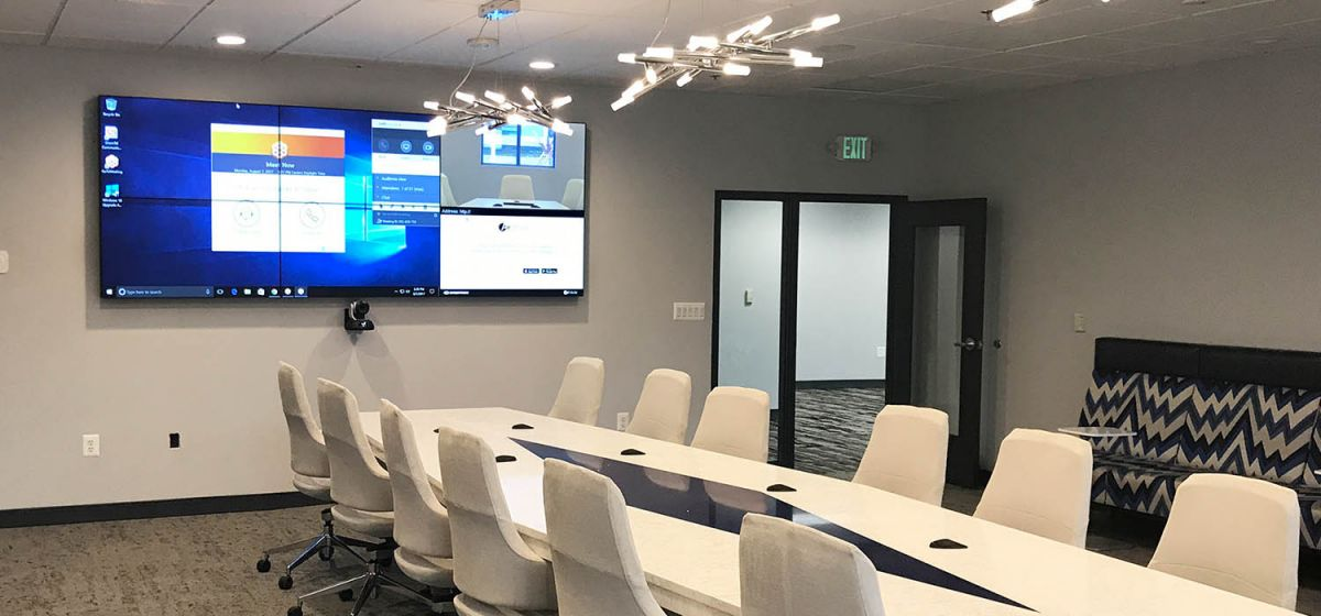 Gramophone Commercial Solutions AV Screens Interior Conference