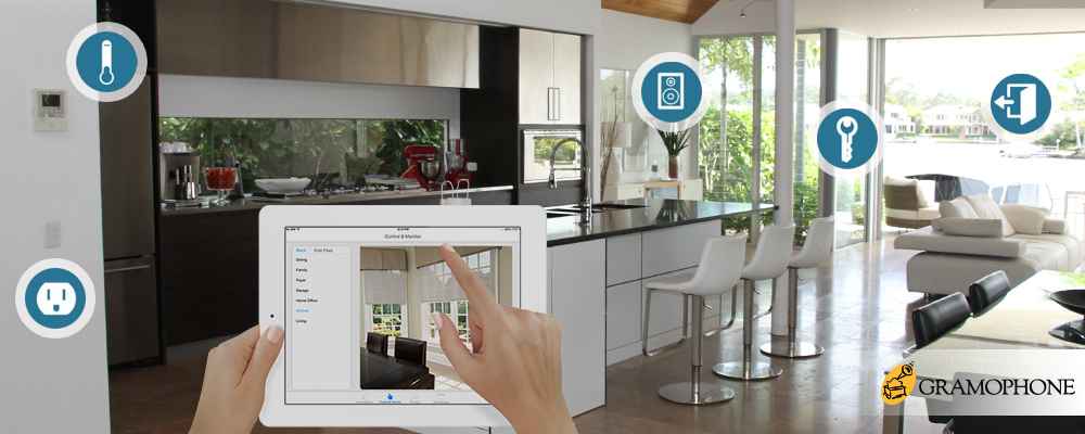 Technology In Homes connected home | gramophone