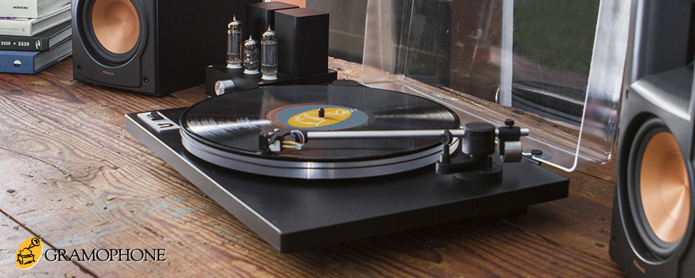Turntables at Gramophone
