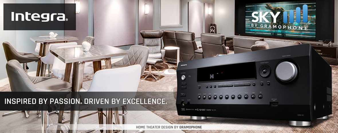 Integra at Gramophone - Receivers - amps - players